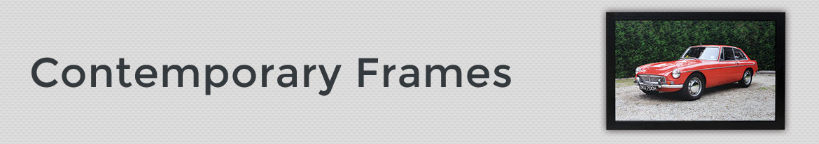 contemporary frames, modern picture frames